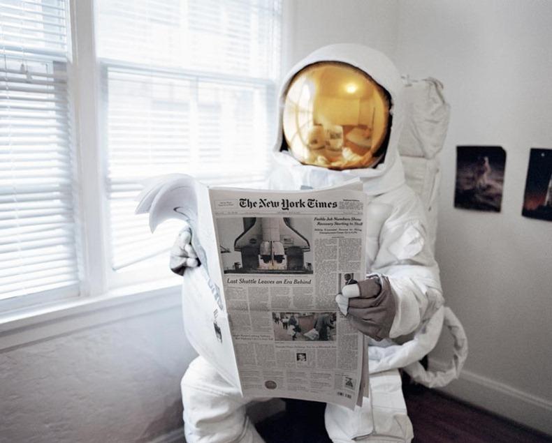 Поздравления днем, космонавт смешная картинка