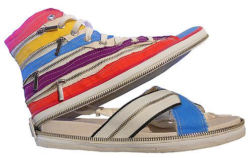 Обувь-трансформер