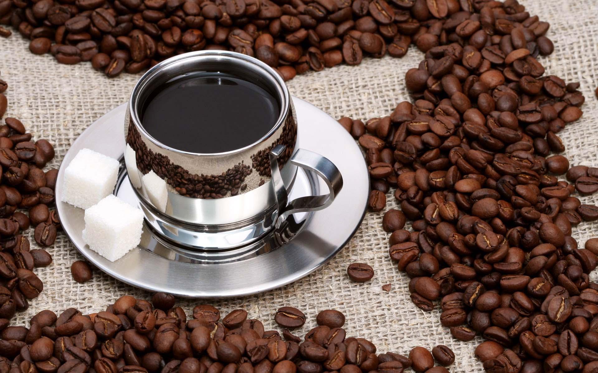 Кофейные зерна открытки