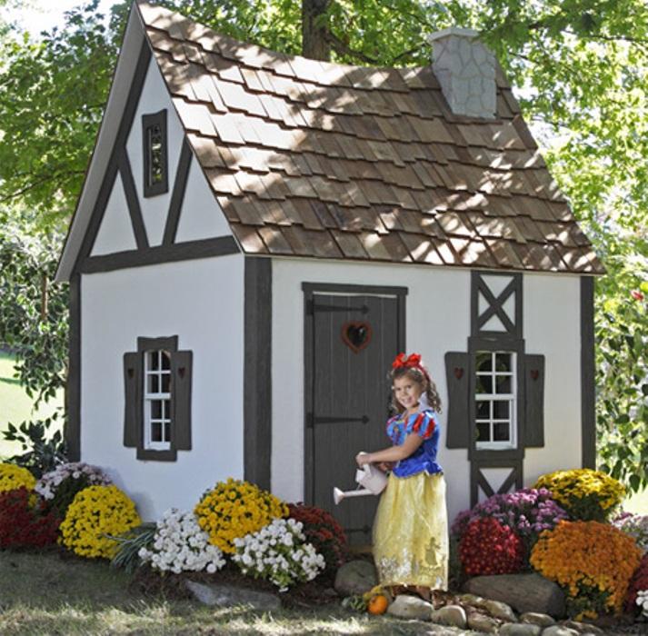 Детский сказочный домик своими руками