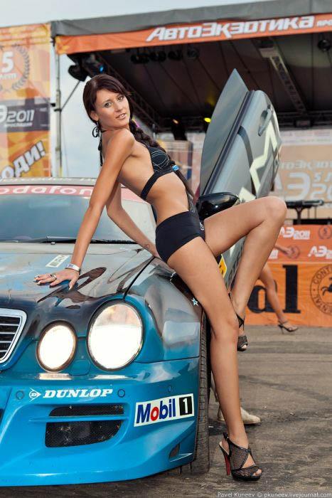 Девушки на автоэкзотике 2006 фото