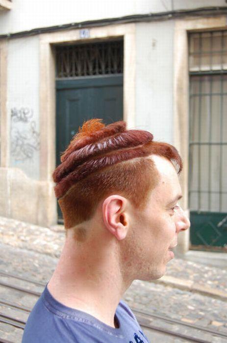 Прикольные стрижки волос