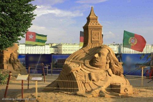 X Международный Фестиваль песчаных скульптур