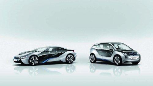 Два новых электромобиля  от BMW