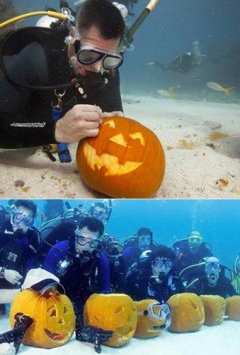 Необычные подводные мероприятия