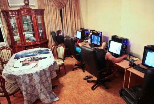 Квартира геймеров