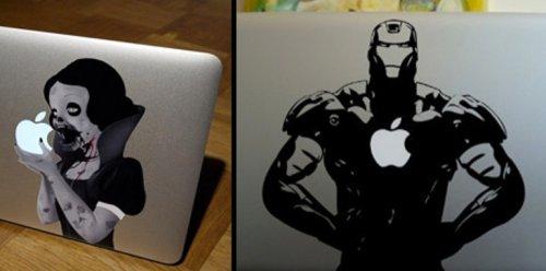 Прикольные наклейки для MacBook