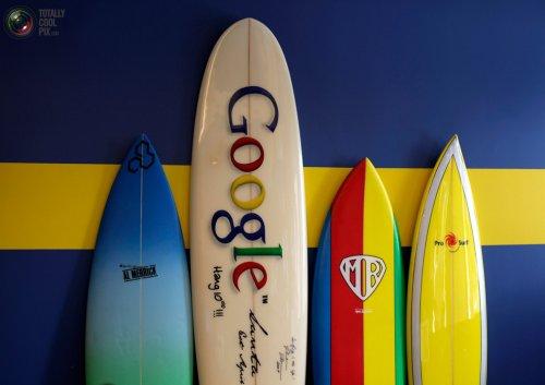Шикарный офис компании Google