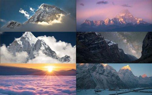 Завораживающие горные хребты Гималаи