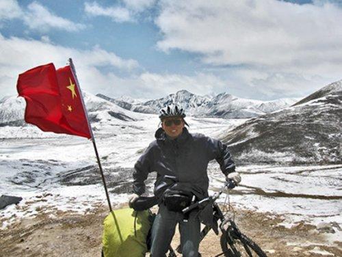 Китаец пересек всю Евразию на велосипеде