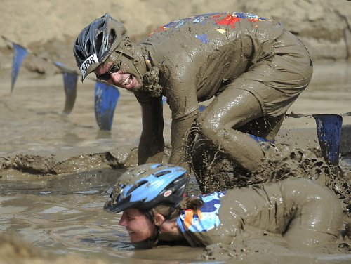 Гонка на велосипедах Columbia Muddy Buddy-2011