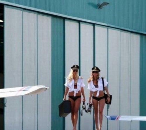 Девушки и авиация