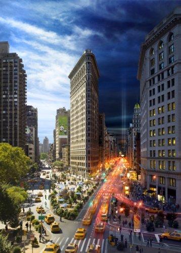 Нью Йорк днем и ночью