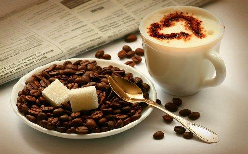 Кофейные обои