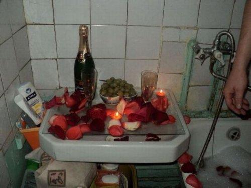 Романтический вечер при свечах