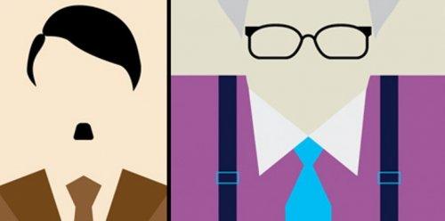 Минималистичные портреты знаменитостей