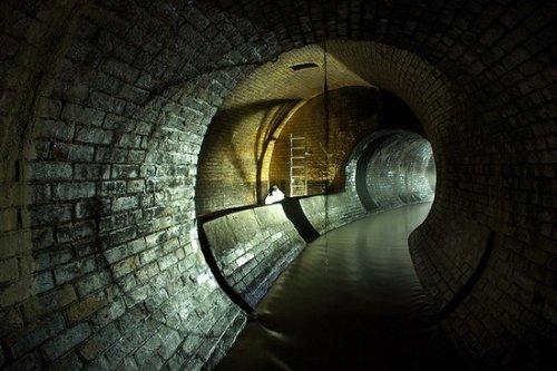 Самая большая подземная река в Лондоне