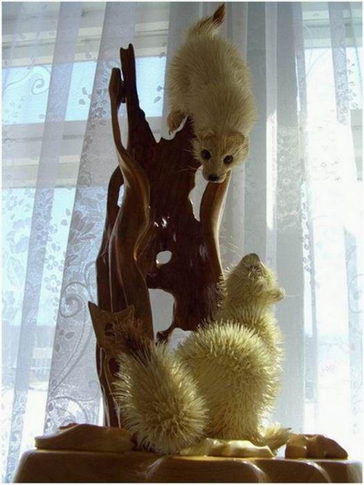 Поделки животных и зверей