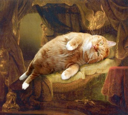 Коты в искусстве