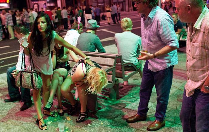 молодежь немножко порезвилась ростки цивилизованного общества