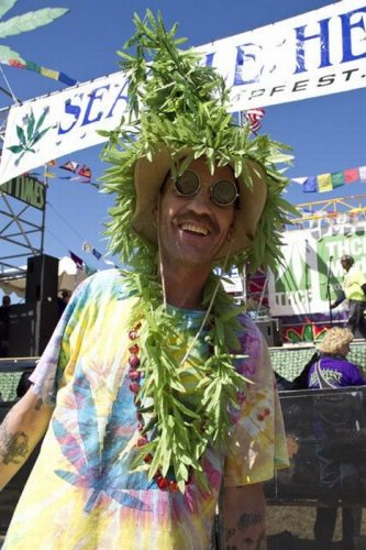 Hempfest - фестиваль конопли в Сиэтле