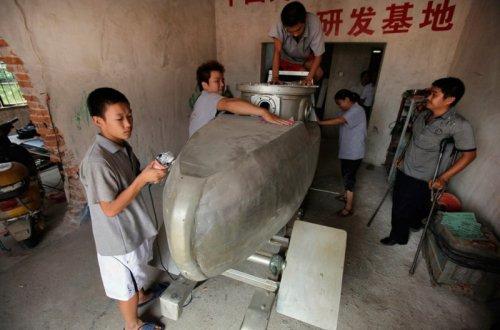 Китайские мини-подлодки