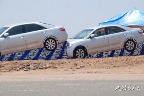 Необычная инсталляция в Саудовской Аравии