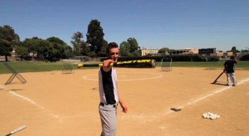 Сногсшибательный бейсбол от профи