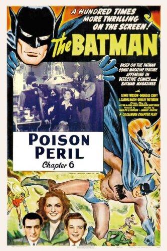 Эволюция постеров с Бэтмэном
