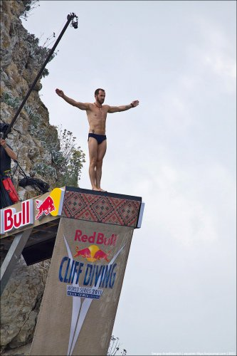 Финал Red Bull Cliff Diving 2011 в Ялте
