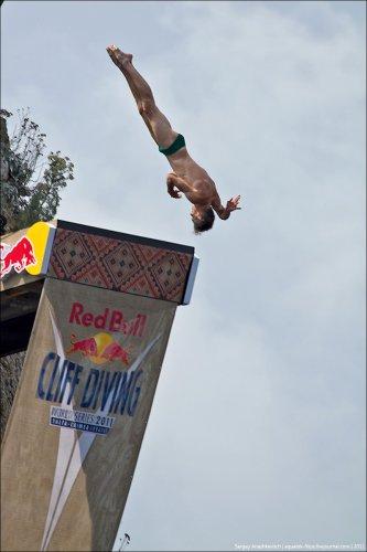 Финал Red Bull Cliff Diving 2011 в Ялте