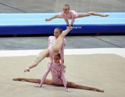Потрясающие акробатические трюки