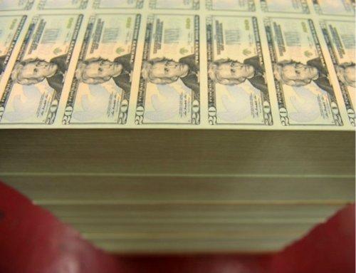 Как печатают американские доллары