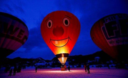 Шоу воздушных шаров Warsteiner International Hot Air Balloon Show