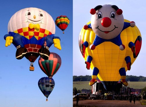 Шоу воздушных шаров Warsteiner International Hot Air Balloon Show