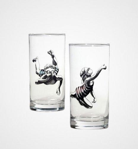 Необычные стаканы и бокалы
