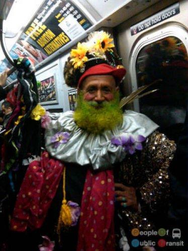 Чудики в метро (50 шт)