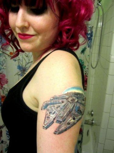 """Татуировки в стиле """"Звездные войны"""""""