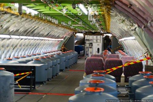 Экскурсия по крупнейшему авиалайнеру в мире