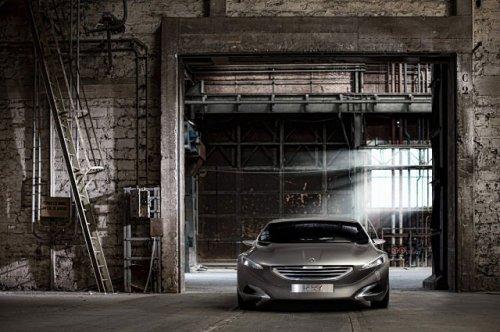 Концепт - кар Peugeot HX1