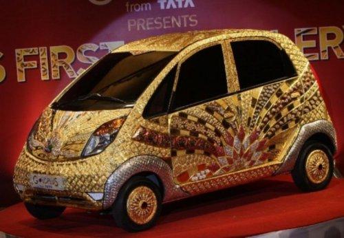 Ювелирная авто Tata Nano