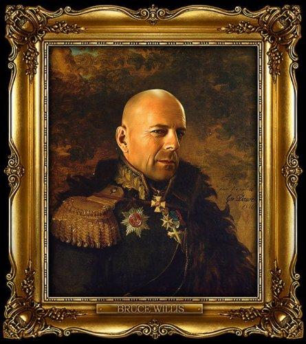 Зарубежные звезды в форме русских генералов