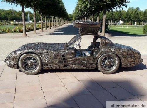 Mercedes из металлолома