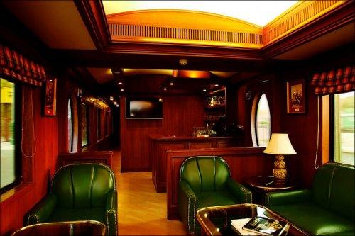 Роскошный поезд «Экспресс Махараджей»