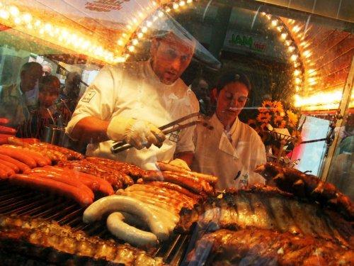 Уличная кухня разных стран мира
