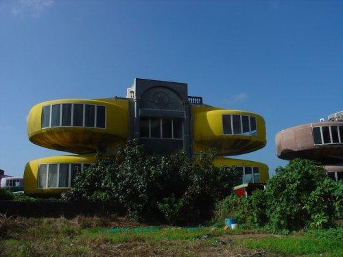Необычные дома-НЛО