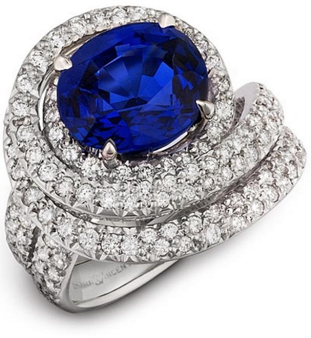 Кольцо с бриллиантом самые дорогие