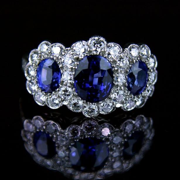 Бриллиантовые кольца фото 7