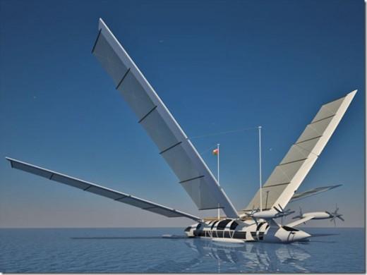летающие лодки современные