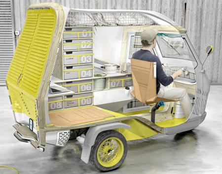 Как сделать фургон на колесах